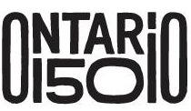 Ontario 150 logo